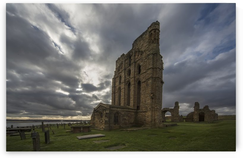 Tynemouth priory;Tynemouth tyne and wear england by PacificStock