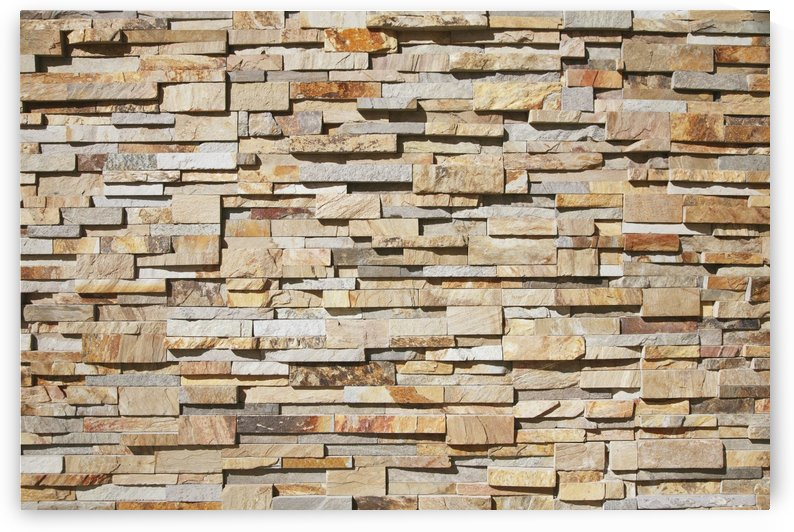 A contemporary stone wall;Honolulu hawaii united states of america by PacificStock
