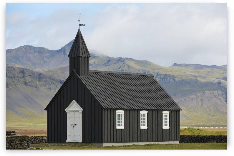 Budir Church; Stadarsveit, Snaefellsnes, Iceland by PacificStock