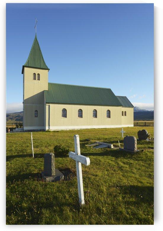 Church Of Faskrudarbakki; Faskrudarbakki, Snaefellsnes, Iceland by PacificStock