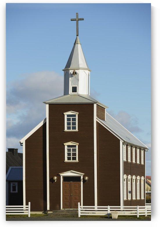 Village Church Of Eyrarbakki; Eyrarbakki, Arnessysla, Iceland by PacificStock