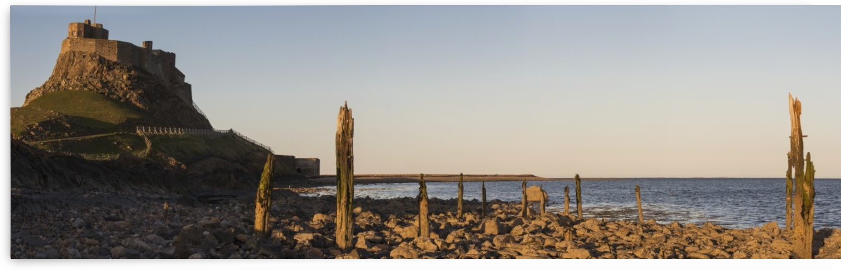 Lindisfarne Castle; Holy Island, Northumberland, England by PacificStock