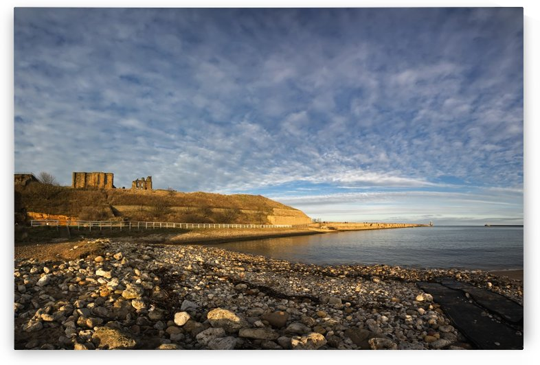 Along the shoreline of the River Tyne; Tynemouth, Tyne and Wear, England by PacificStock