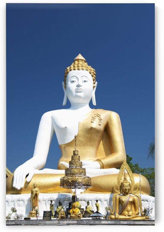 Wat Doi Kham Temple Buddha; Chiang Mai, Thailand by PacificStock