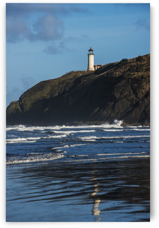 North Head Lighthouse is found at Cape Disappointment State Park; Ilwaco, Washington, United States of America by PacificStock