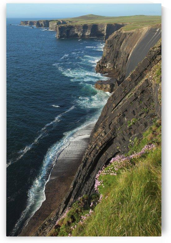 Coastline along Loop Head; County Clare, Ireland by PacificStock