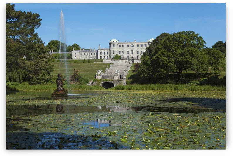 Powerscourt House and Garden; Enniskerry, County Wicklow, Ireland by PacificStock