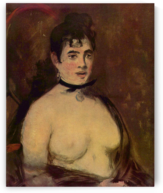 Female act by Manet by Manet