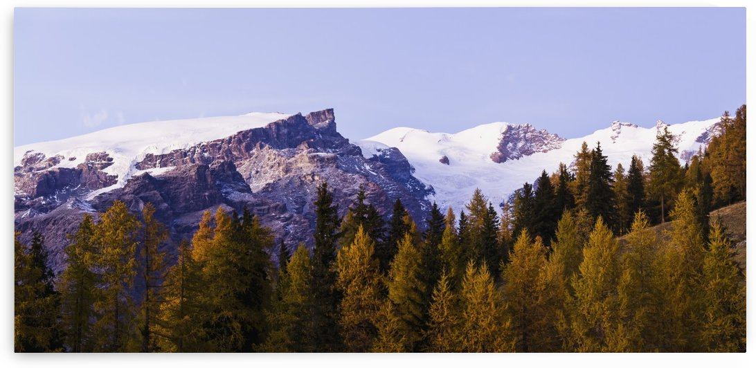 Mountains from Champoluc; Italy by PacificStock