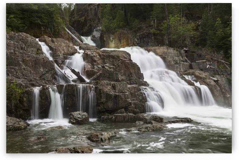 Lower Myra Falls, Strathcona Provincial Park; British Columbia, Canada by PacificStock