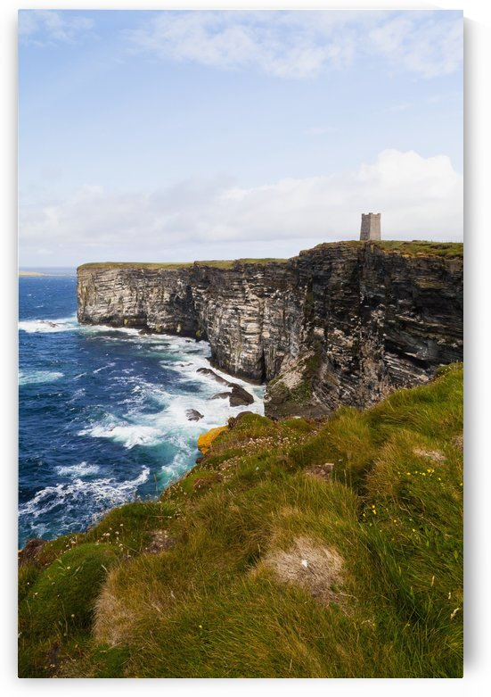 Marwick Head RSPB Nature Reserve, Kitcheners Monument; Orkney, Scotland by PacificStock