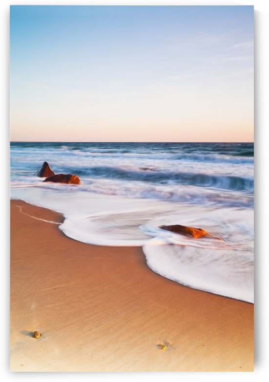 Gay Head Public Beach at sunset; Martha's Vineyard, Massachusetts, United States of America by PacificStock