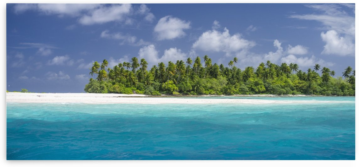 Atoll in the Kiribati Islands; Kiribati by PacificStock