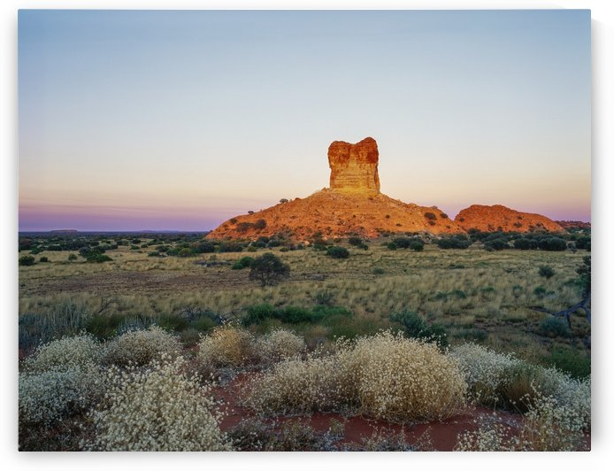 Chambers Pillar; Northern Territory, Australia by PacificStock
