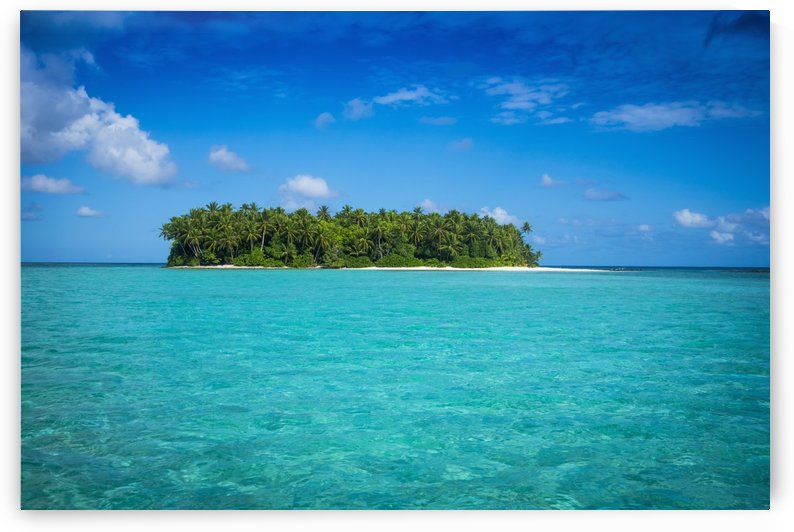 An island that forms part of the marine park, near the Tuvalu mainland; Tuvalu by PacificStock