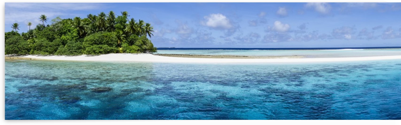 A remote atoll of the Marshall Islands; Republic of the Marshall Islands by PacificStock