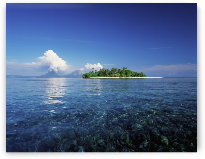 Pigin Island, Rabaul Harbour; East New Britain, Papua New Guinea by PacificStock