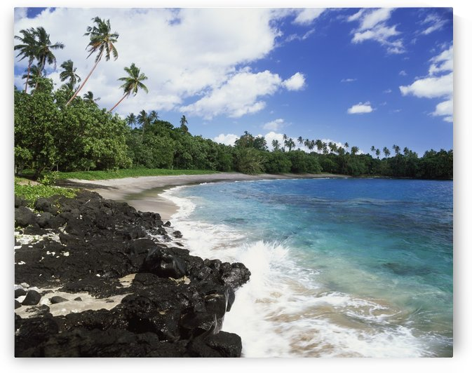 West coast of Upolu Island; Upolu, Samoa by PacificStock