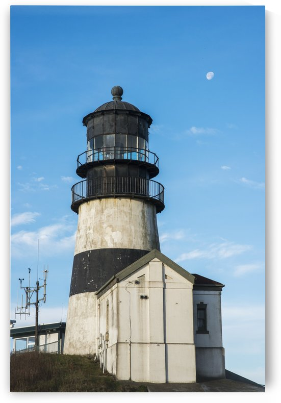 Cape Disappointment Lighthouse, marking the mouth of the Columbia River; Ilwaco, Washington, United States of America by PacificStock