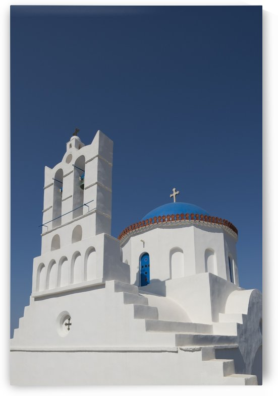 The church of Panayia Poulati; Sifnos, Cyclades, Greek Islands, Greece by PacificStock