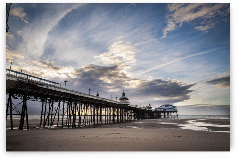 North Pier; Blackpool, Lancashire, England by PacificStock