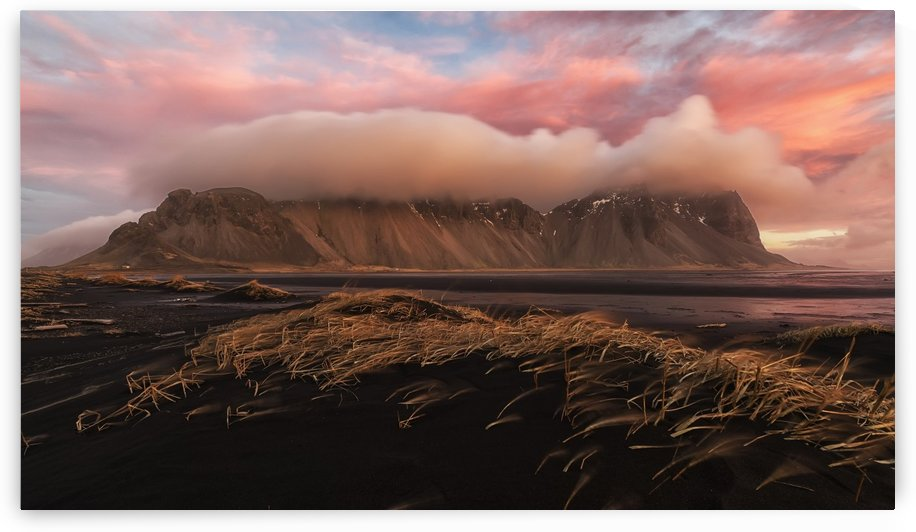 Sunrise over the area known as Stokknes, near the town of Hofn, Southeastern Iceland; Iceland by PacificStock