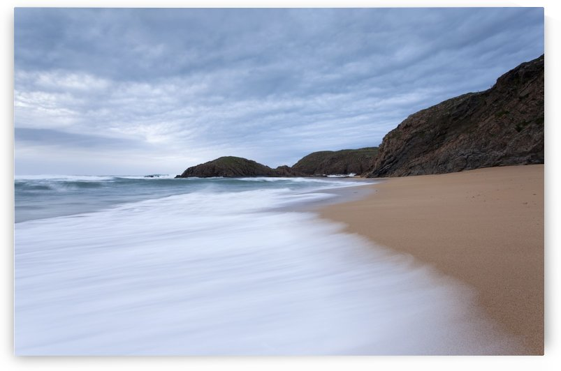 Waves breaking at Murder Hole; County Donegal, Ireland by PacificStock