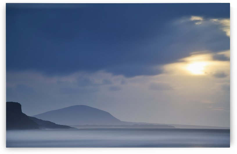 Donegal coastal scene, looking toward Dooros Point and Meenlaragh; County Donegal, Ireland by PacificStock