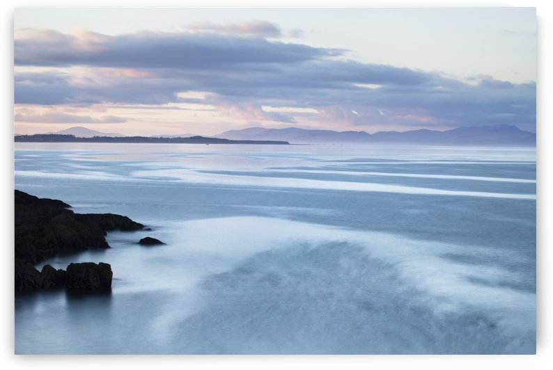 Evening light over Clogherhead; County Louth, Ireland by PacificStock