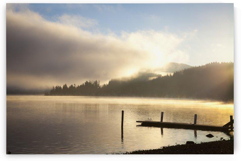 Lake Whatcom at sunrise; Bellingham, Washington, United States of America by PacificStock
