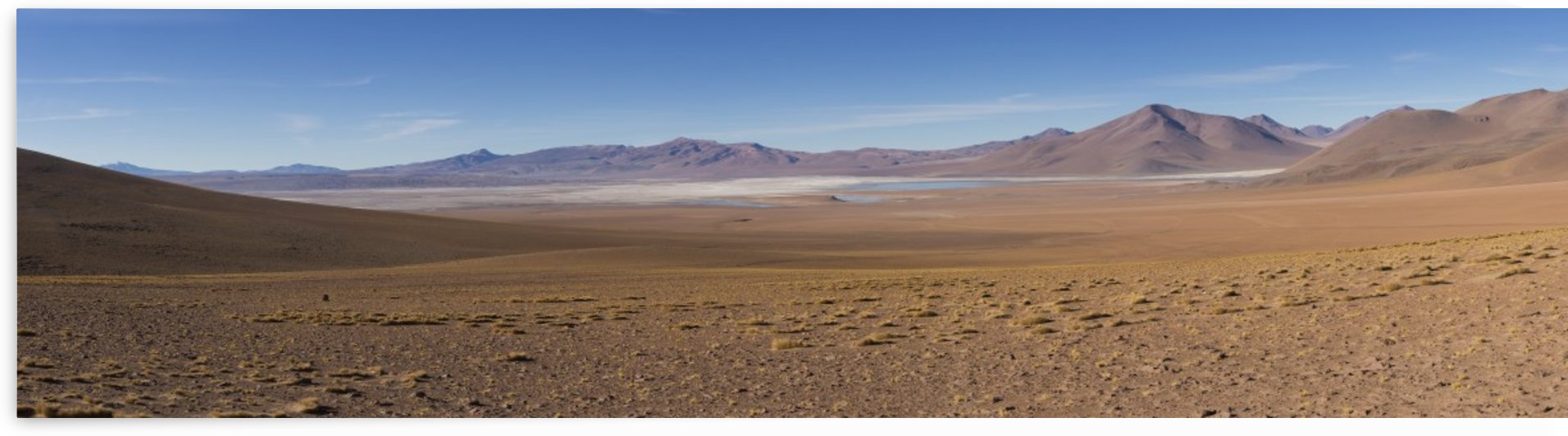 The surreal landscape of Bolivia's Altiplano region near Uyuni; Bolivia by PacificStock