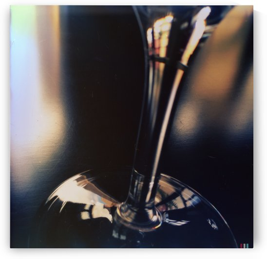 Reflected Wine by Ulf Bley
