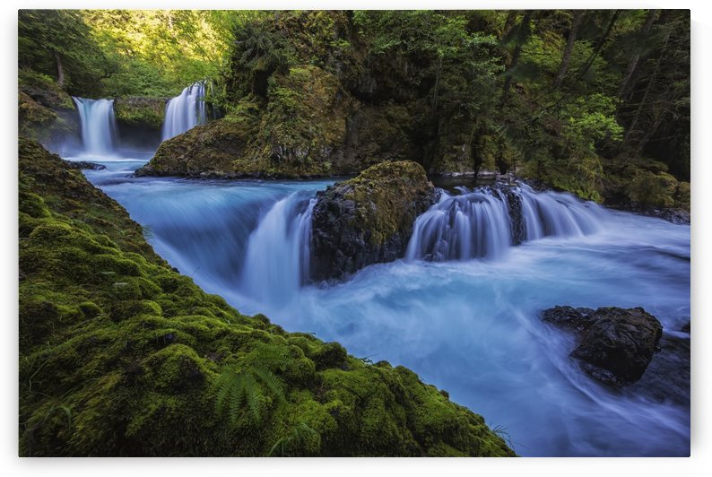 Spirit Falls; Washington, United States of America by PacificStock