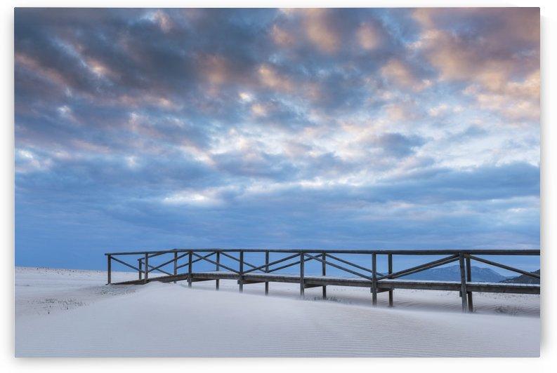 Los Lances Beach; Tarifa, Costa de la Luz, Cadiz, Andalusia, Spain by PacificStock