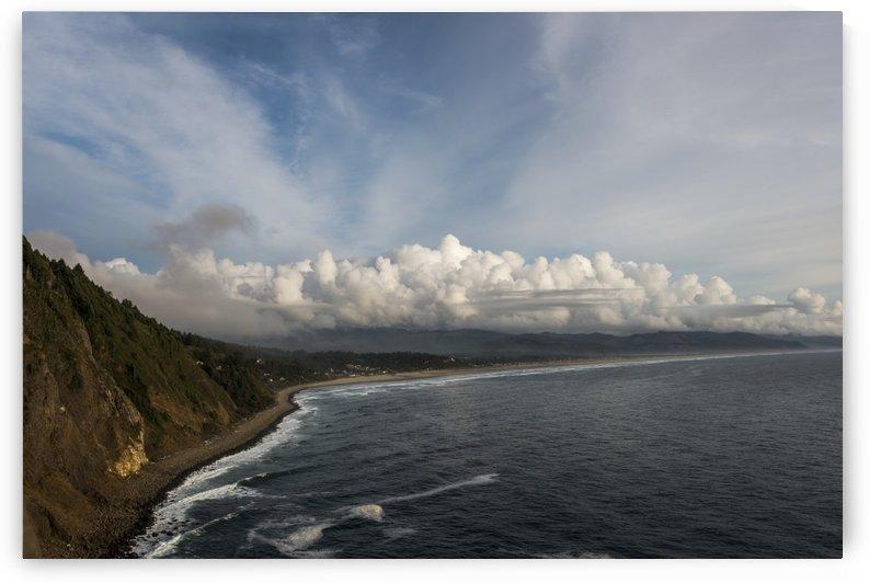 Neahkahnie Beach has room to roam on the Oregon Coast; Oregon, United States of America by PacificStock