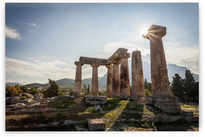 Temple of Apollo; Corinth, Greece by PacificStock