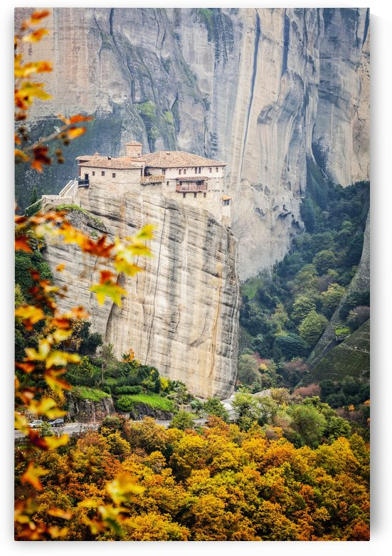 Monastery Rousanou; Meteora, Greece by PacificStock