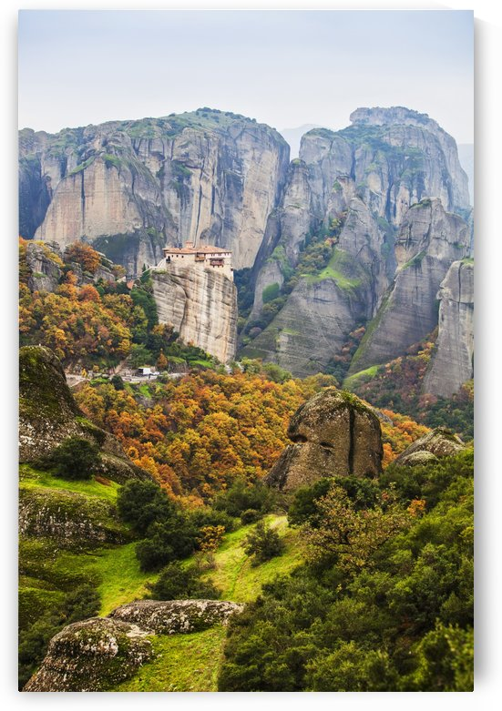 Monastery Rousanou; Meteora, Greece by PacificStock