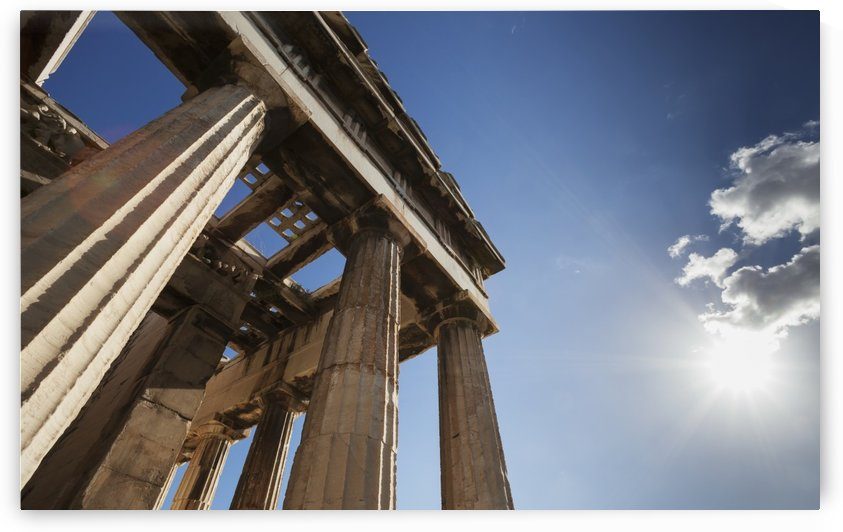 Temple of Hephaestus; Athens, Greece by PacificStock