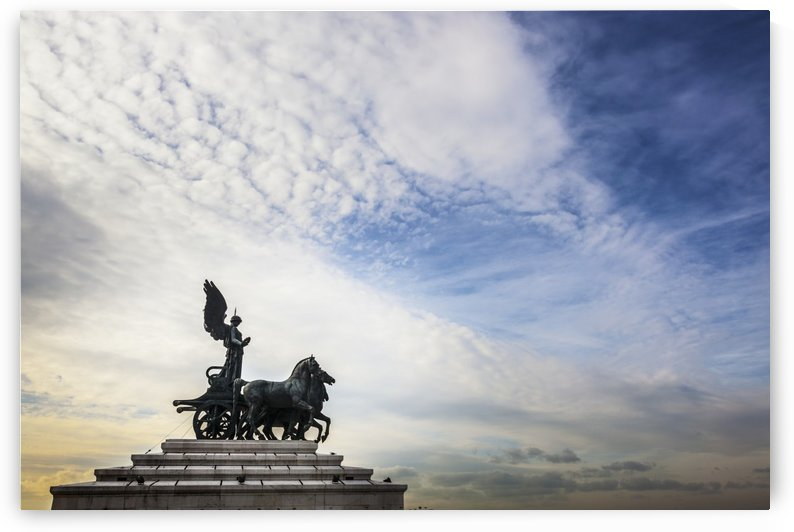 National Monument to Victor Emmanuel II; Rome, Italy by PacificStock