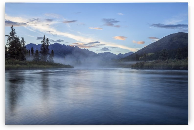 The Lapie River flows through the wilderness along the South Canol Road; Yukon, Canada by PacificStock