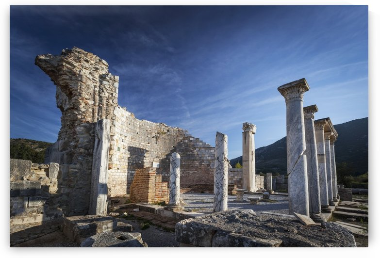 Ruins of the Church of Mary and Council of Ephesus; Ephesus, Turkey by PacificStock