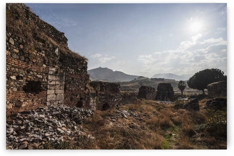 Ruins of the Synagogue of Sardis; Sardis, Turkey by PacificStock