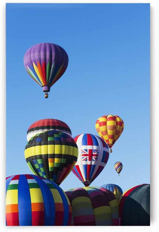 Hot air balloons, 2015 Balloon Fiestas; Albuquerque, New Mexico, United States of America by PacificStock