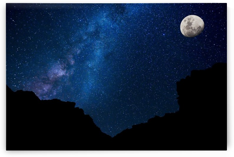Stars in the Night Sky, Milky Way Galaxy by PacificStock