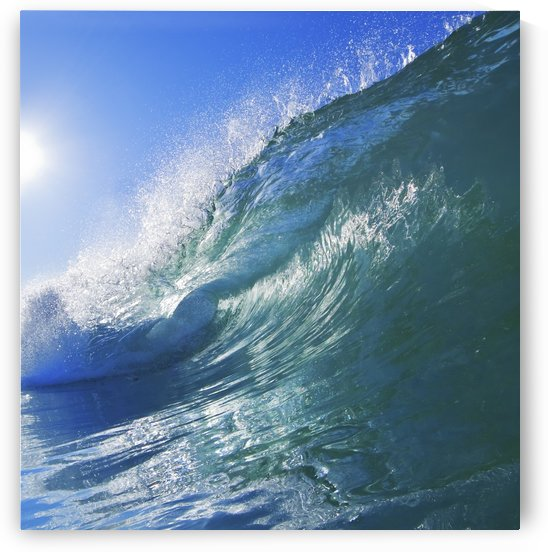 Blue Ocean Wave by PacificStock