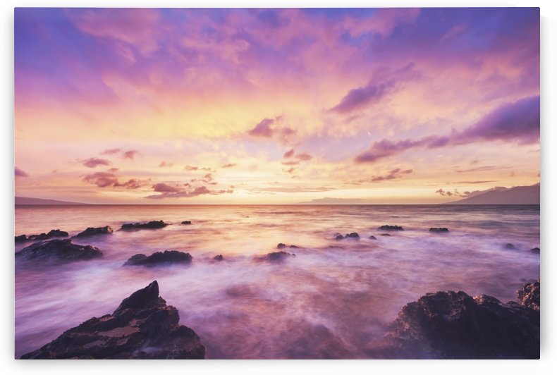 Beautiful Sunset and Ocean by PacificStock