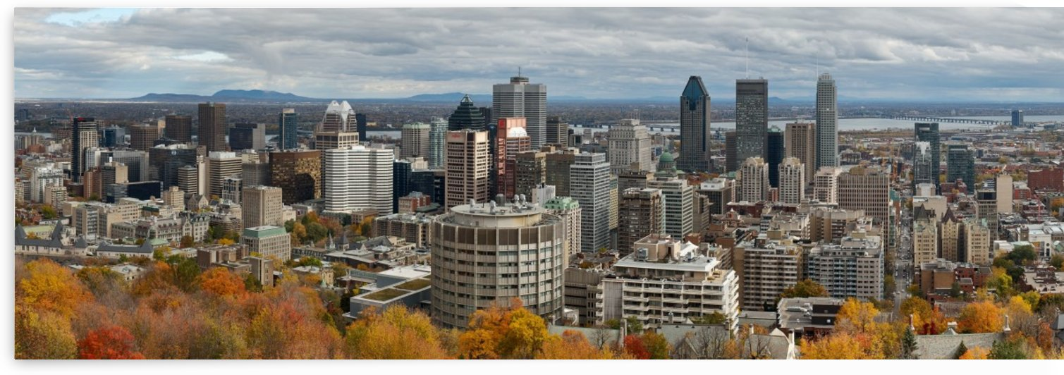 Montreal in Autumn colors by Serge
