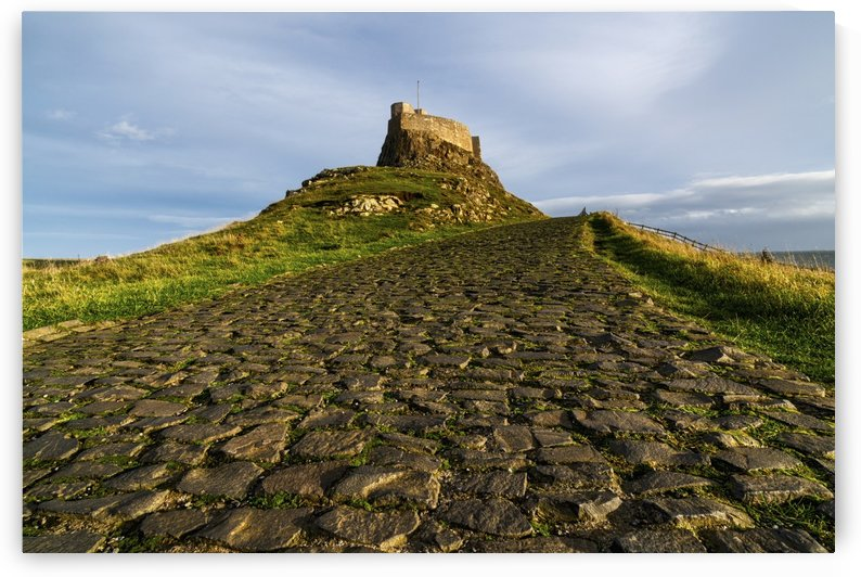 A civil parish on Holy Island; Lindisfarne, Northumberland, England by PacificStock