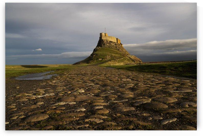 Civil parish on Holy Island; Lindisfarne, Northumberland, England by PacificStock